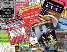 Load image into Gallery viewer, Fourth Grade Social Studies Curriculum History Government Geography & Economics