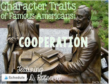 Load image into Gallery viewer, Franklin D. Roosevelt Featuring Character Traits: Cooperation
