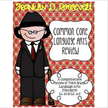 Load image into Gallery viewer, Franklin D. Roosevelt's Language Review {Common Core Language Arts Practice}