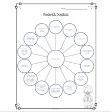 Load image into Gallery viewer, Frederick Douglass Diagram & Comprehension Questions