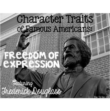 Load image into Gallery viewer, Frederick Douglass Featuring Freedom of Expression Passages
