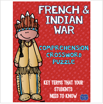 French and Indian War Crossword