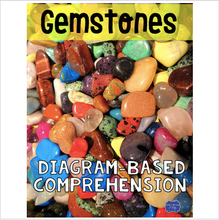 Load image into Gallery viewer, Gemstones Diagram and Comprehension Questions