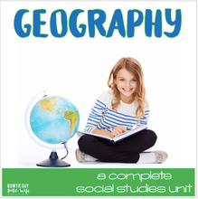 Load image into Gallery viewer, Geography Unit Bundle of Nonfiction Texts, Assessments, Activities