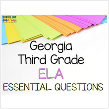 Load image into Gallery viewer, Georgia 3rd Grade ELA Posters Bundle