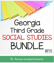 Load image into Gallery viewer, Georgia 3rd Grade Social Studies Posters Bundle