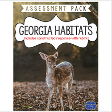 Load image into Gallery viewer, Georgia Habitats Test with Constructed Response Assessment