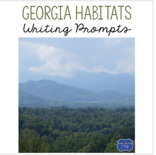 Load image into Gallery viewer, Georgia Habitats Writing Prompts