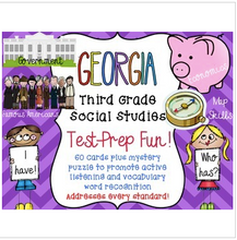 Load image into Gallery viewer, Georgia Mega Pack Social Studies Third Grade Test Prep I have, Who Has?