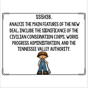 Georgia Social Studies Standards for Fifth Grade Newly Implemented & Revised GSE