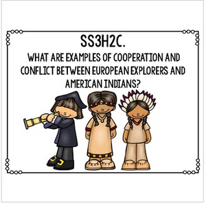 Georgia Social Studies Standards for Third Grade GSE Essential Questions