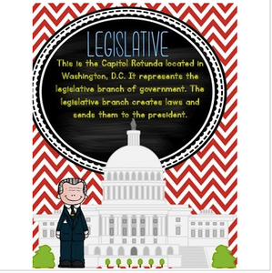 Government Anchor Charts {Free}