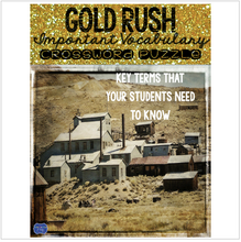Load image into Gallery viewer, Gold Rush Crossword II