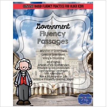 Government Fluency Passages