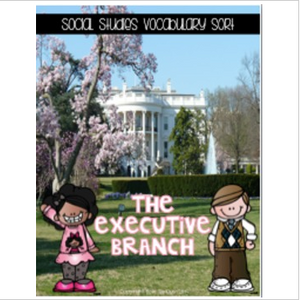Government Interactive Vocabulary Sorts Bundle