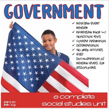 Load image into Gallery viewer, Government Unit Mega Bundle for Levels and Branches of Government
