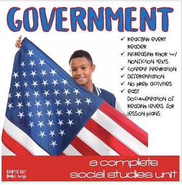 Government Unit Mega Bundle for Levels and Branches of Government