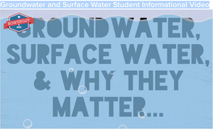 Groundwater and Surface Water Student Informational Video