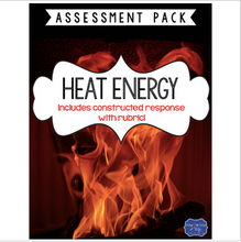 Load image into Gallery viewer, Heat Energy Test with Constructed Response Assessment