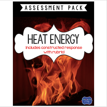 Heat Energy Test with Constructed Response Assessment