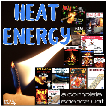 Heat Unit: Games, Activities, & Assessments bundle