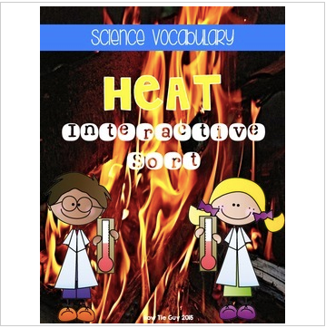 Heat {Science Interactive Vocabulary Sort}