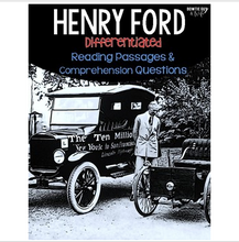 Load image into Gallery viewer, Henry Ford Differentiated Reading Passages