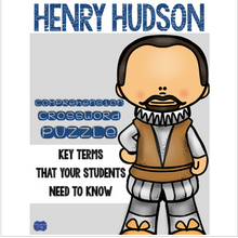 Load image into Gallery viewer, Henry Hudson Crossword