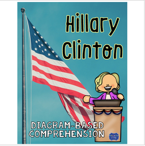 Hillary Clinton Diagram with Comprehension Questions
