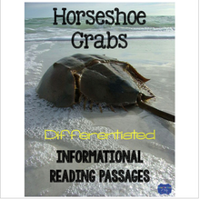 Load image into Gallery viewer, Horseshoe Crabs {Differentiated Reading Passages & Questions}