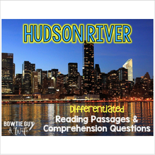 Load image into Gallery viewer, Hudson River Differentiated Nonfiction Reading Passages