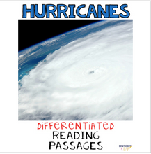 Load image into Gallery viewer, Hurricanes Differentiated Nonfiction Reading Passages