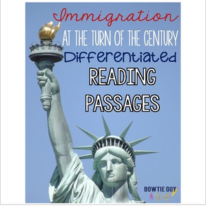 Immigration at the Turn of the Century Differentiated Reading Passages