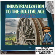 Load image into Gallery viewer, Industrialization to Digital Age Bundle of Texts for Reading and Social Studies