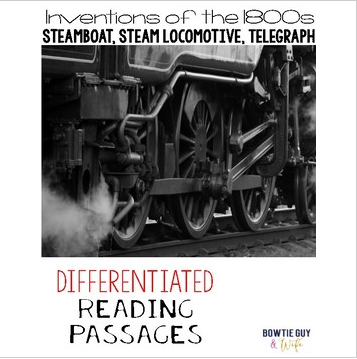 Inventions of Steamboat, Steam Locomotive, Telegraph Passages