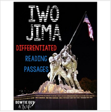 Load image into Gallery viewer, Iwo Jima Differentiated Reading Passages