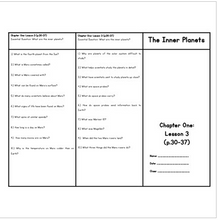 Load image into Gallery viewer, Inner Planets (Houghton Mifflin 4th Grade Science Chapter 1 Lesson 4)
