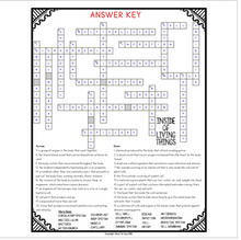 Load image into Gallery viewer, Inside of Living Things Comprehension Crossword