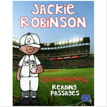 Load image into Gallery viewer, Jackie Robinson Differentiated Reading Passages & Questions