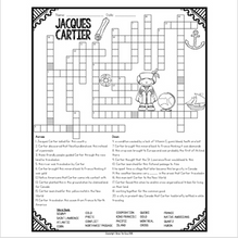 Load image into Gallery viewer, Jacques Cartier Crossword