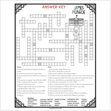 Load image into Gallery viewer, James Monroe Crossword