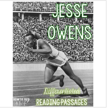 Load image into Gallery viewer, Jesse Owens Differentiated Reading Passages