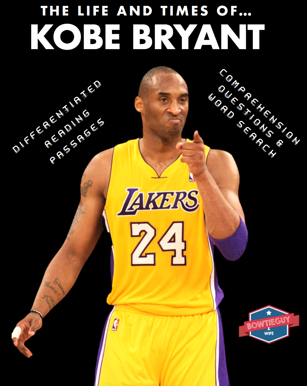 Kobe Bryant FREE differentiated passage