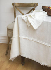 Bilbao Linen Tablecloth (2 colours, 5 sizes)