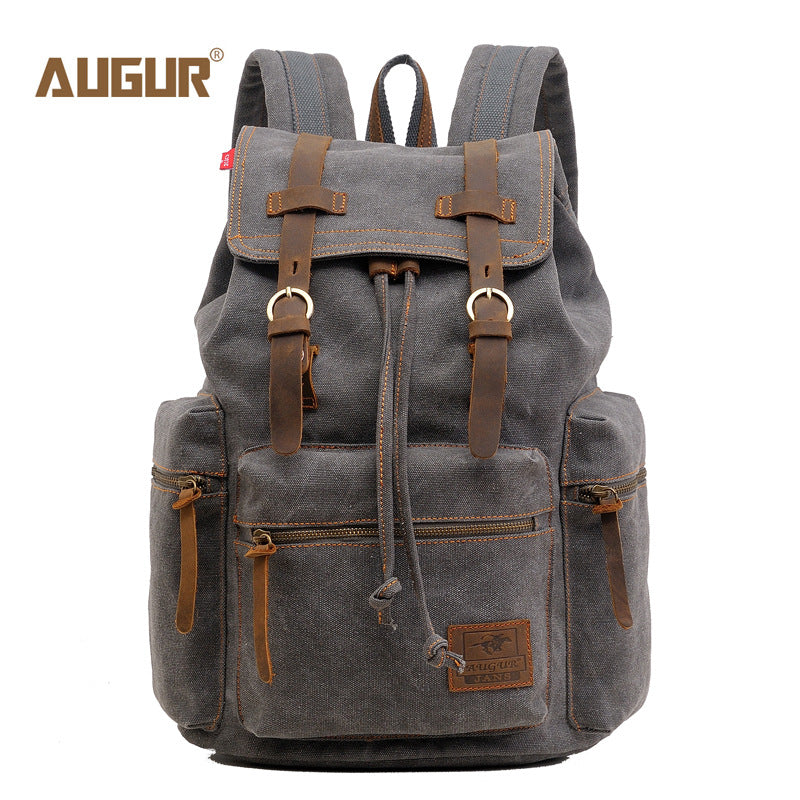 Vintage Canvas Backpack