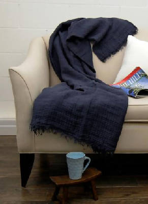 Hampton Linen Throw (6 colours)