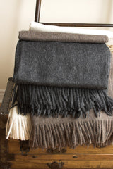 Alpaca & Lambswool Throw