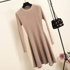 PADEGAO - Irregular Hem Sweater Dress