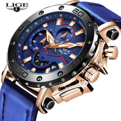LIGE - Quartz Sport Watch