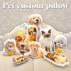 Customized Pet Photo Pillow